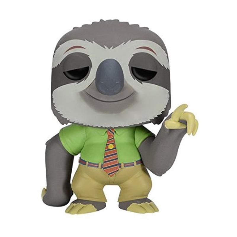 这款Disney 迪士尼 Zootopia Flash 豪华毛绒玩具,身高14英寸,它的毛绒十分柔软,和电影中的扮相也很相似,一身标准的工作服,看似很职业。另外它的双手具有可粘合面料,能够环抱在一起,悬挂在晾衣杆上以惩罚它工作效率低的毛病,还是十分搞笑的,而且树懒体的说话方式已经横扫朋友圈,更何况他还撞脸了王思聪,简直就是新一代网red! 发货商家:海淘网美国OR 发货地点:美国 0.