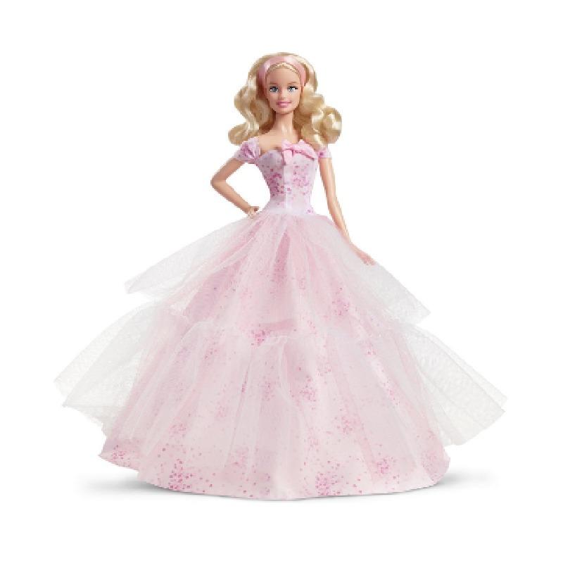 2016款收藏版! barbie 芭比娃娃 birthday wishes 生日礼物愿望娃娃图片