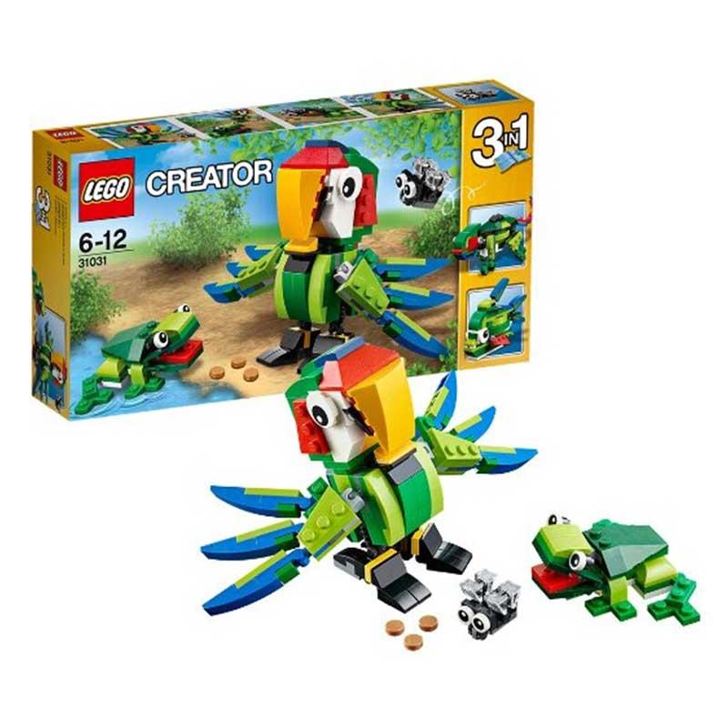 lego 乐高 创意组 31031 雨林动物