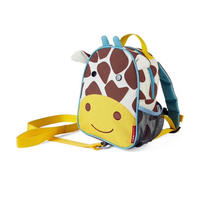 美国skip hop 可爱动物防走失儿童书包/背包 长颈鹿款