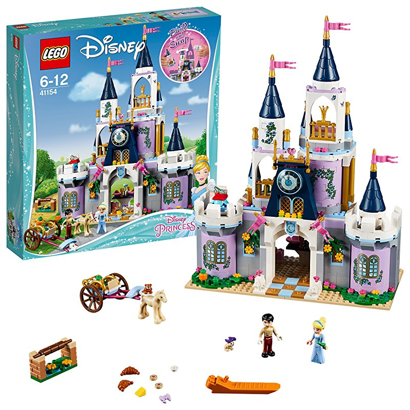 lego 乐高 disney princess 迪士尼公主系列 灰姑娘的梦幻城堡 41154